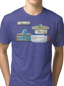 Browser Battle Tri-blend T-Shirt