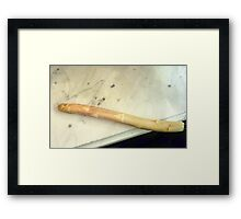 Inspired by Manet Framed Print