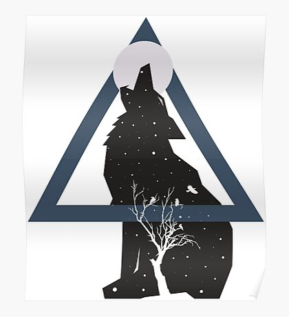Nature of the Wolf Poster