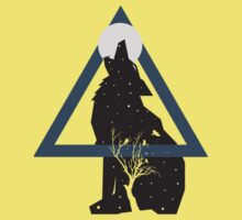 Nature of the Wolf Kids Tee