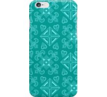 Symmetry Pattern Blue iPhone Case/Skin