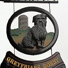 Greyfriars Bobby Pub SIgn by Ian Coyle