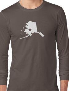 Alaska Heart Long Sleeve T-Shirt