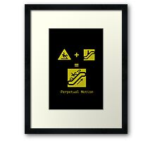 Perpetual Motion Framed Print
