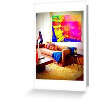 Imagine this is your living room...  Greeting Card