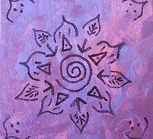 'Pink Playful Mandala' by Shiloh Moore
