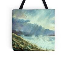 Storm Over The Atlantic Tote Bag