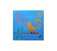 'Singing Birdie' Art Print