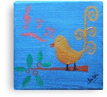 'Singing Birdie' Canvas Print