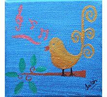 'Singing Birdie' Photographic Print