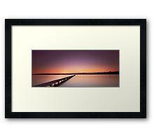 Jetty's Dawn Framed Print