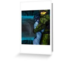 Cortana & Master Chief Greeting Card