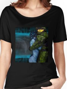 Cortana & Master Chief Women's Relaxed Fit T-Shirt