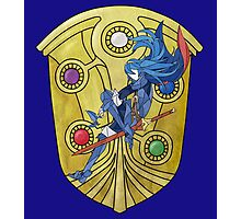 Stained Glass Lucina Photographic Print