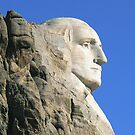 Washington of Rushmore by Graeme  Hyde