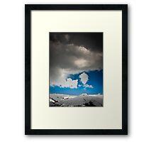 Horizon at Solang Framed Print