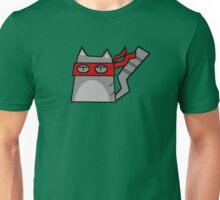 Raphael Teenage Mutant Ninja Kitty Unisex T-Shirt
