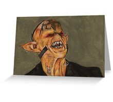 Bargaining P1 - Razor's Lackey - BtVS S6E1 Greeting Card