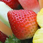 Strawberry with fruit by kchased
