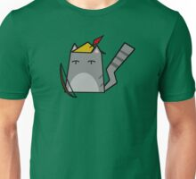Robin Hood Cat Unisex T-Shirt