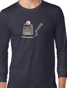 Ash (pokemon) Cat Long Sleeve T-Shirt