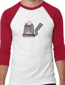 Ash (pokemon) Cat Men's Baseball ¾ T-Shirt