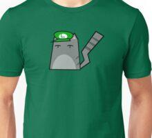 Luigi Cat Unisex T-Shirt