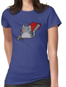 Thor Cat Womens Fitted T-Shirt