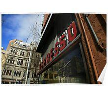 espresso. pellegrinis, melbourne  Poster