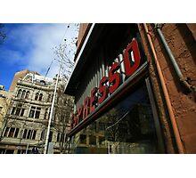 espresso. pellegrinis, melbourne  Photographic Print