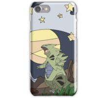 Tyranitar vs the Moon iPhone Case/Skin