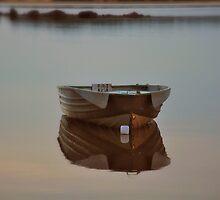 Boat in the morning by Jokev