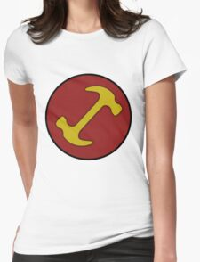 Stonecutters symbol Womens Fitted T-Shirt