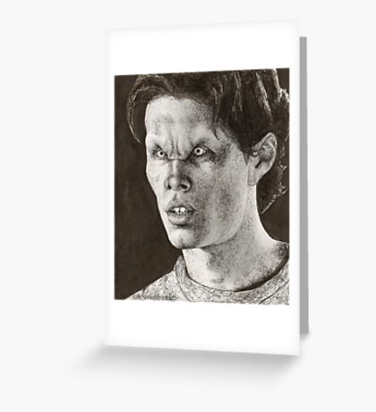 All the Way - Justin - BtVS S6E6 Greeting Card