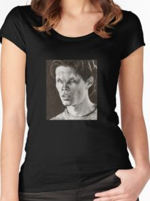 All the Way - Justin - BtVS S6E6 Women's Fitted Scoop T-Shirt