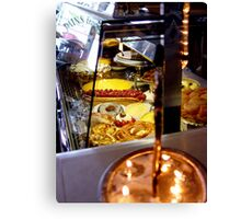 French Patisserie Canvas Print