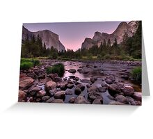 Gates of the Valley #3 Greeting Card