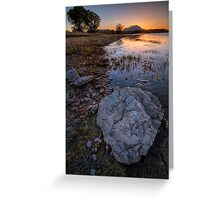 Rock Me Sunset Greeting Card