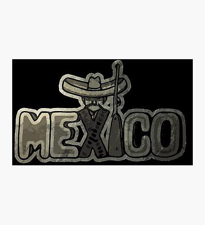 Viva Mexico! Photographic Print