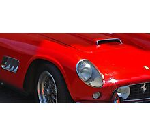 Ferrari Roadster Photographic Print