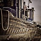 Tugs in Dockyard by Theodore Black