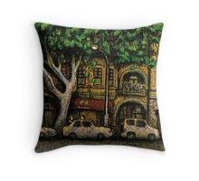 The Yellow House, Potts Point Throw Pillow