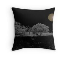 The House and The Moon Throw Pillow