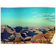 Grand Canyon At Evening Poster