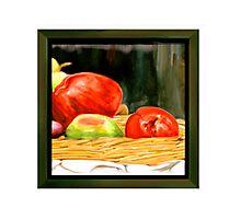 Nested Redish Apples Photographic Print