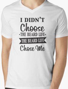 BEARD LIFE Mens V-Neck T-Shirt