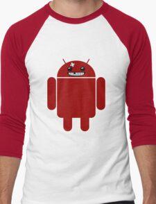 Super Meat Droid Men's Baseball ¾ T-Shirt