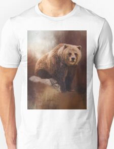 Great Strength - Grizzly Bear Art T-Shirt