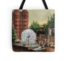 El Alamein Fountain, Kings Cross Tote Bag