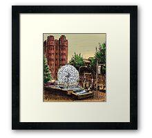 El Alamein Fountain, Kings Cross Framed Print